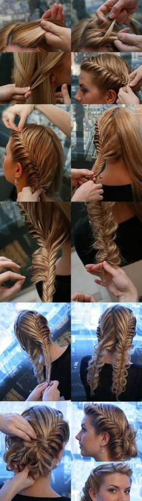 comment faire tresse collee