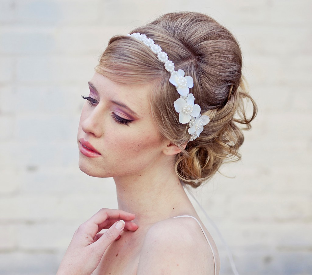 fabriquer headband mariage