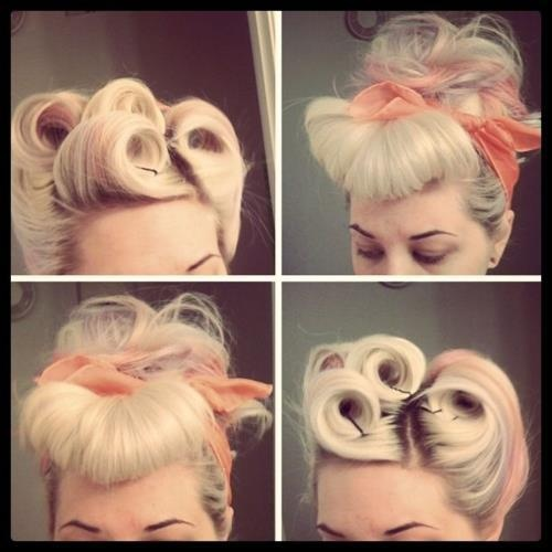 Comment Nouer Mettre Foulard Cheveux Pin Up