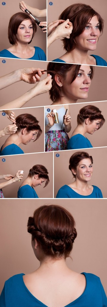 tuto headband cheveux courts