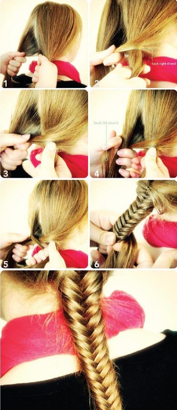 Comment faire une tresse cheveux paysanne 3 brins - Comment faire une tresse sur le cote ...