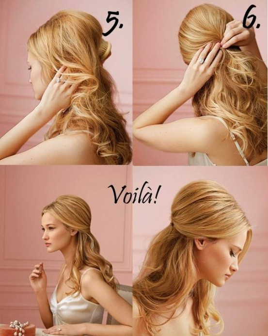 tuto coiffure simple facile