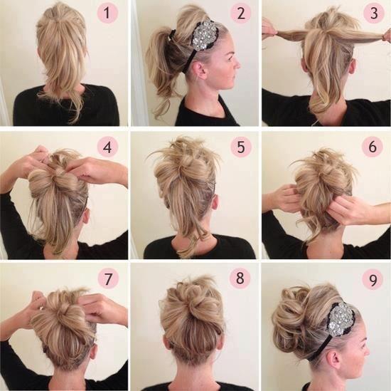 Accessoiriser une coiffure très travaillée
