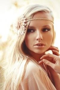 accessoires cheveux blonds
