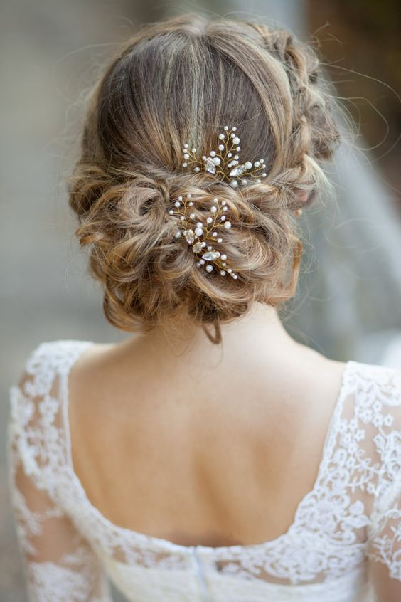 Epingles Cheveux Chignon Pour Coiffure Mariage