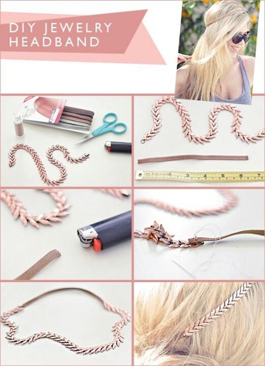Comment Faire Des Accessoires #4: Le Headband Classique