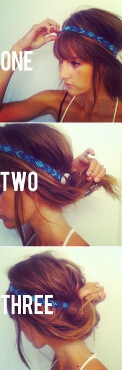 Tuto se coiffer avec un headband