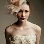 coiffure de mariage avec chapeaux bibi