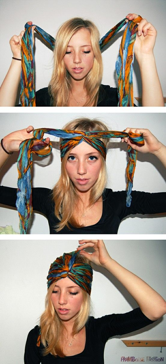 porter mettre foulard turban