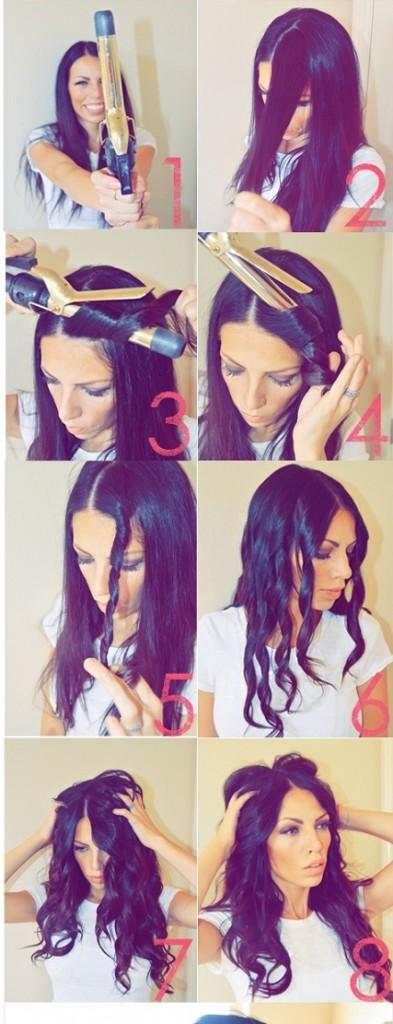 comment faire des boucles cheveux