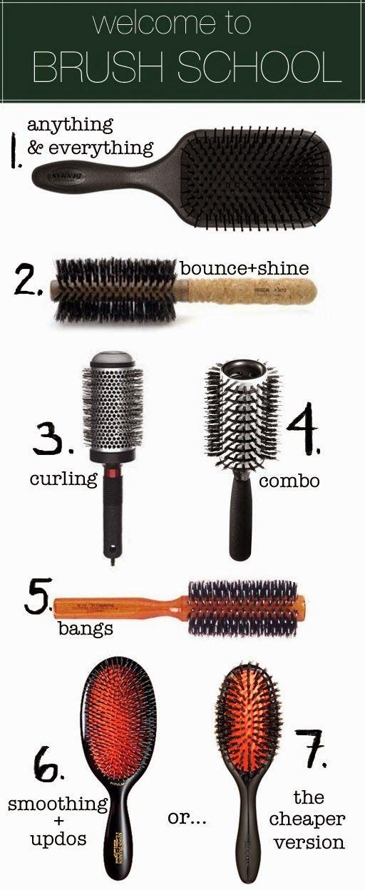comment bien brosser cheveux