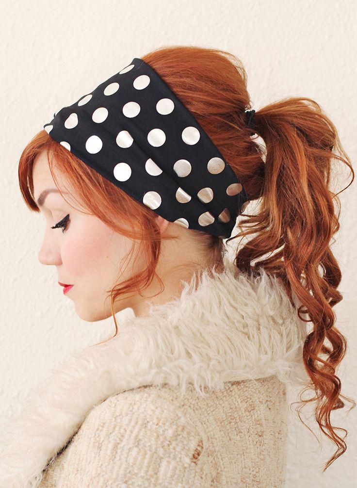 nouer foulard retro vintage