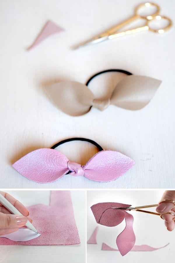 fabriquer elastique cheveux