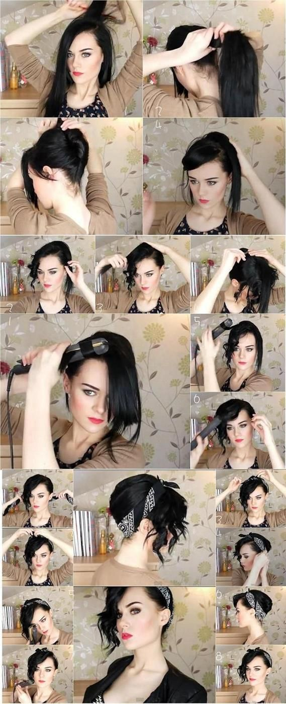 Top Tuto Coupe De Cheveux Pin Up , Amy Garris Blog KQ46