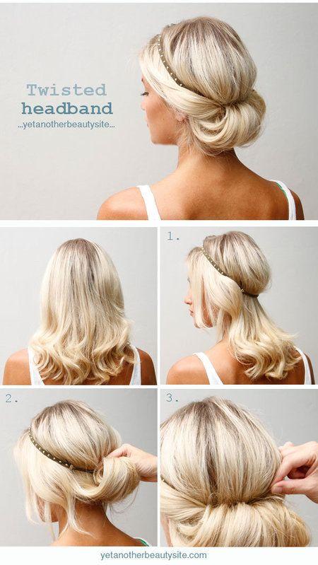 Headband chignon mode emploi