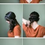 Coiffures rapides pour cheveux longs