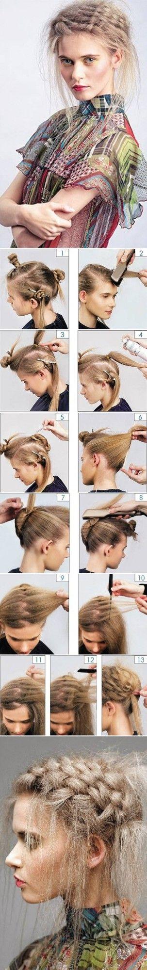 Comment gaufrer ses cheveux