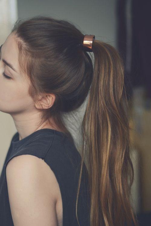 accessoire cheveux coiffure queue de cheval