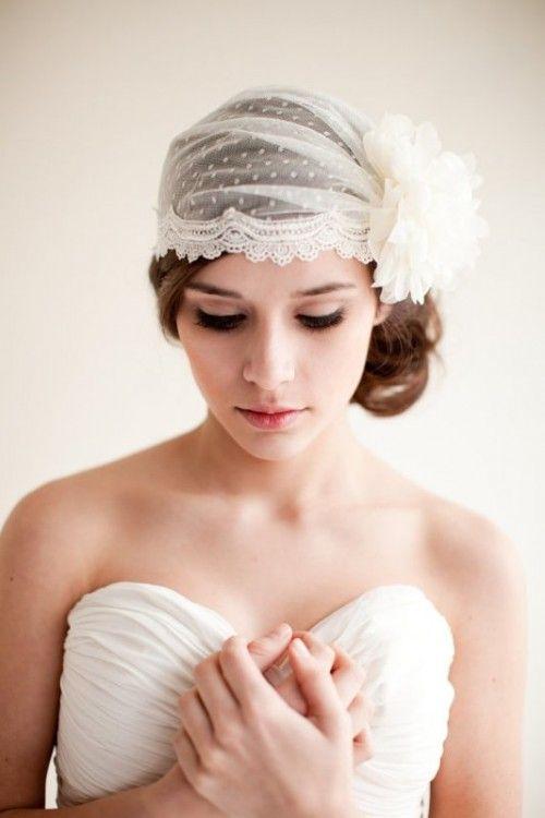 accessoire coiffure mariage voile - Accessoir Cheveux Mariage