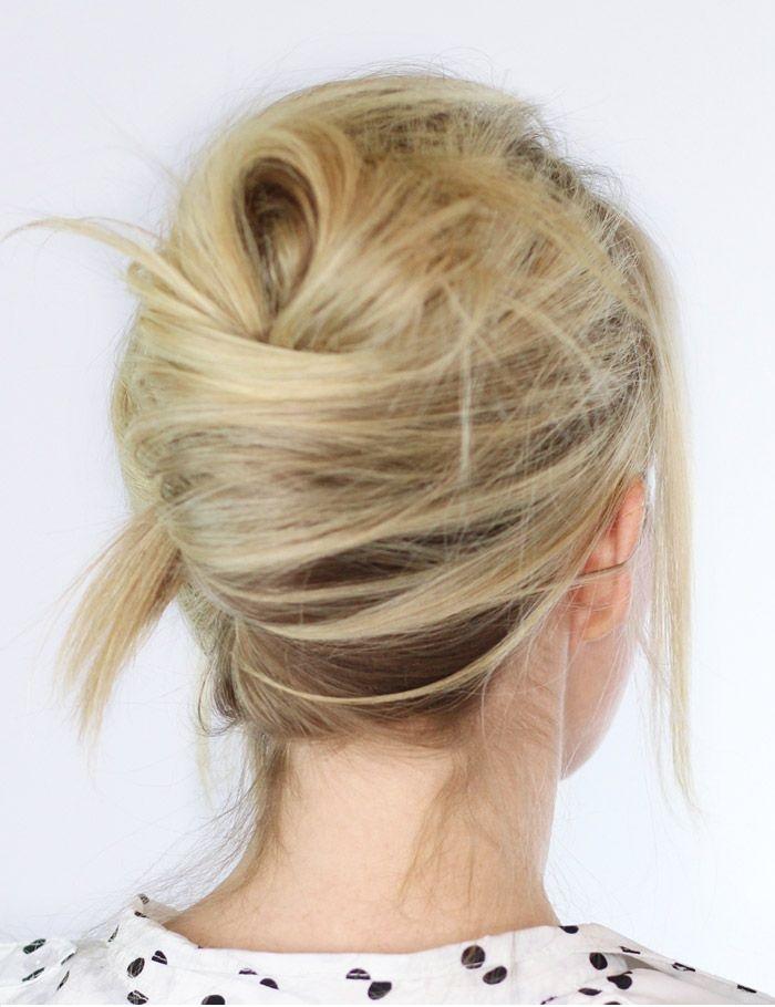 accessoires cheveux chignon