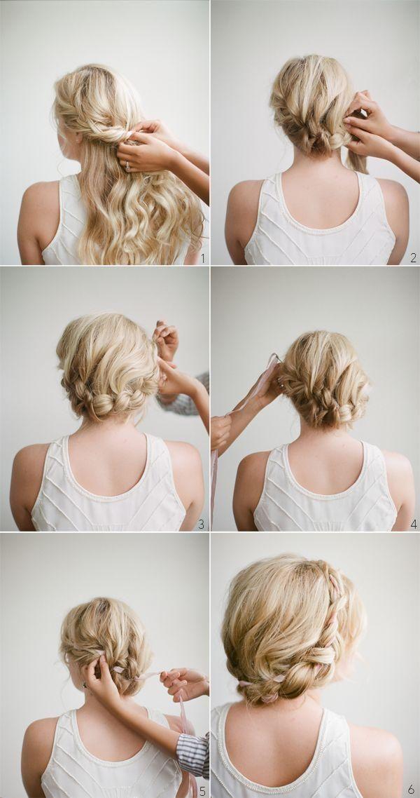 accessoires cheveux mariage tuto