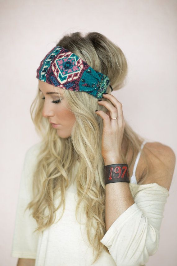 accessoires cheveux tendance bandeau