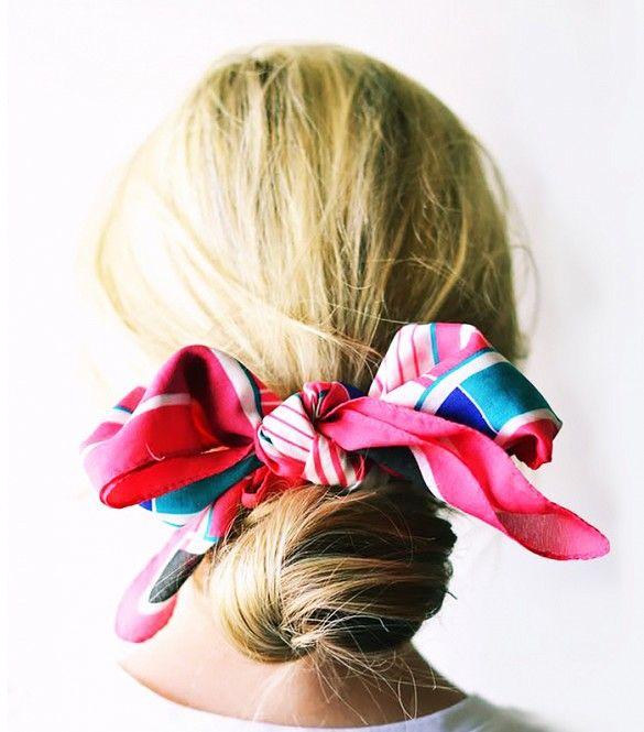 accessoires coiffure tendance foulard cheveux
