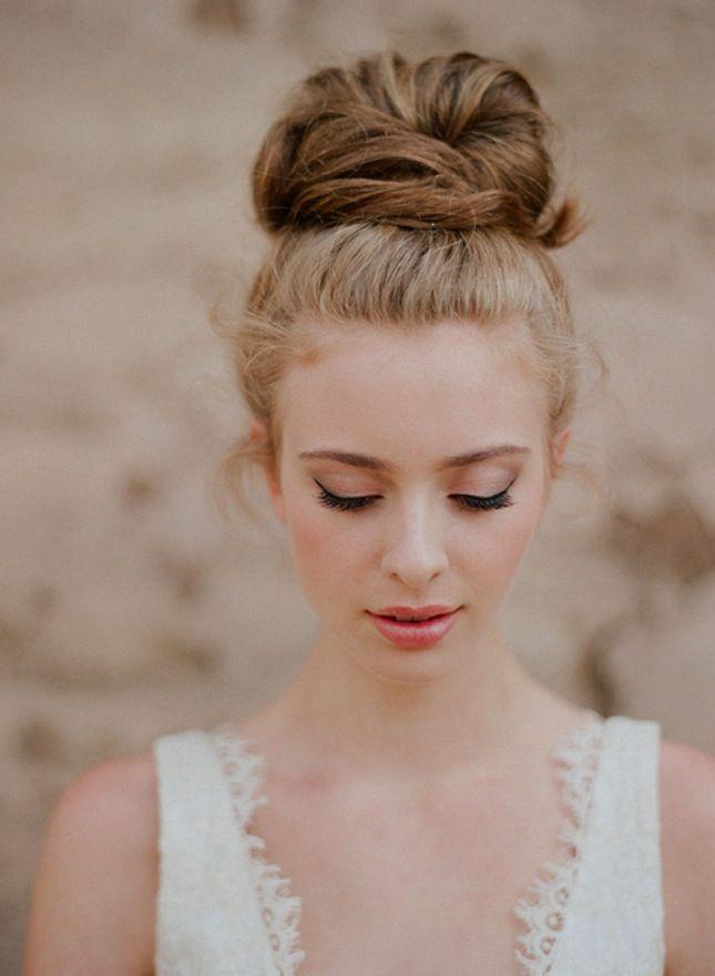 coiffure chignon mariage