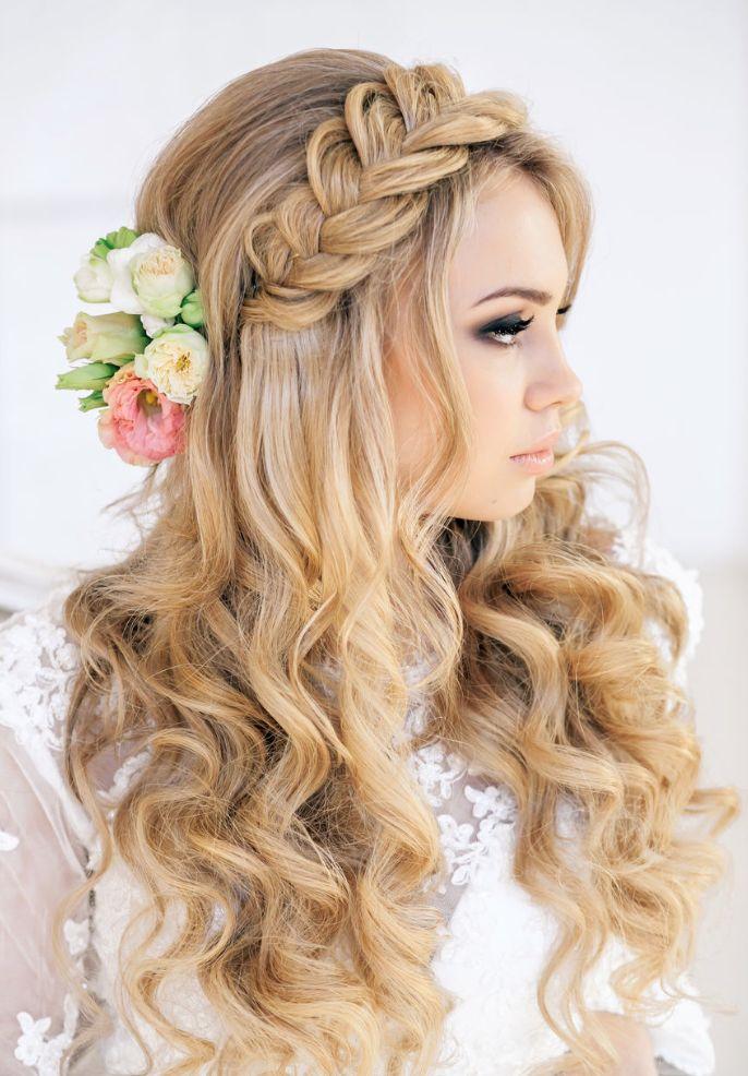 Faire des coiffures de mariГ©e pour les cheveux longs