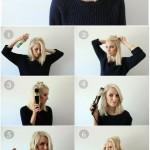 coiffure rapide cheveux courts
