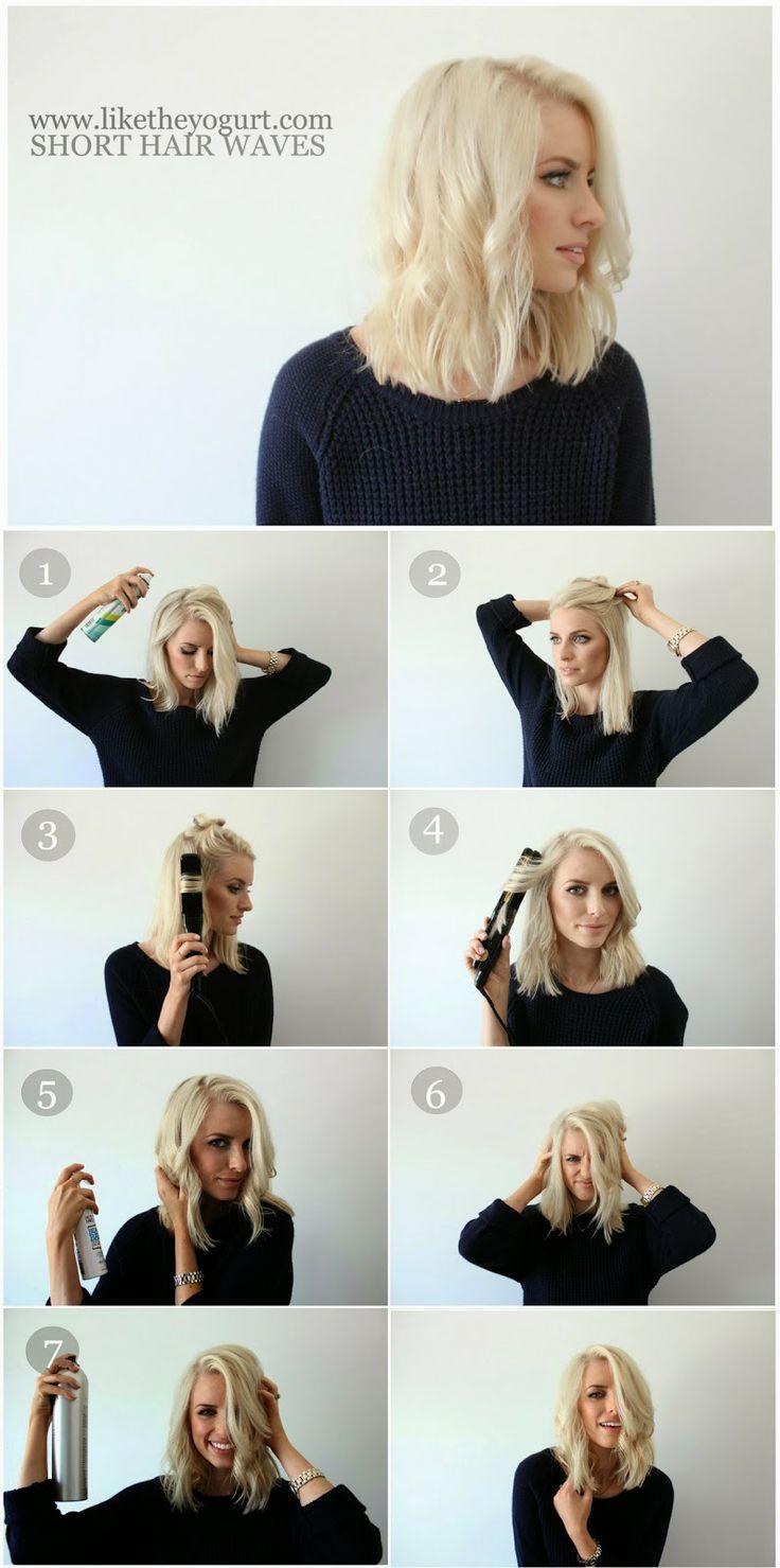 Coiffures Cheveux Courts Rapides