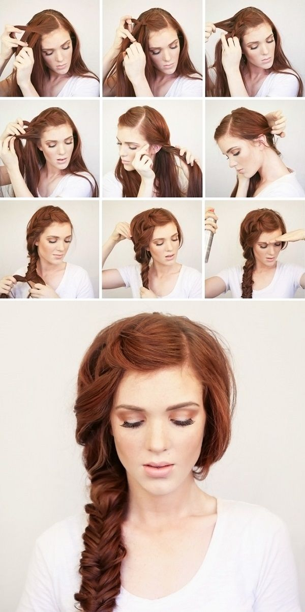 coiffure tresse cheveux
