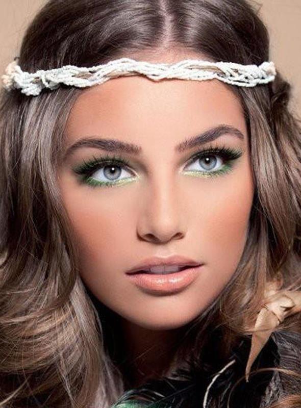 Wedding Makeup Brunette Green Eyes : Quelle coiffure choisir et comment