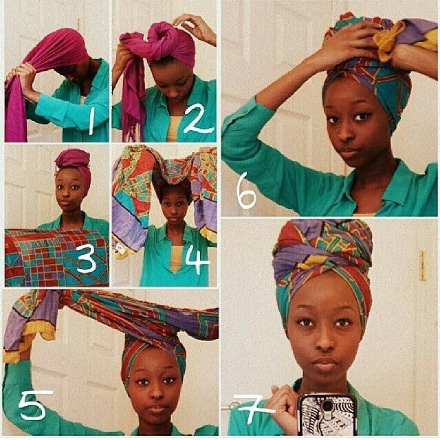 Assez Comment nouer un foulard africain sur la tête ? FP79