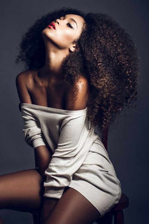 idee coiffure femme cheveux afro