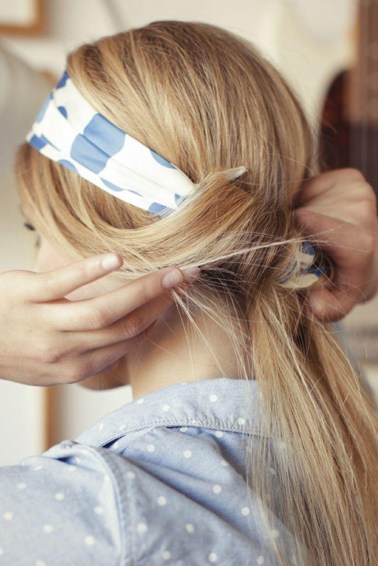 comment porter et mettre des accessoires cheveux pour