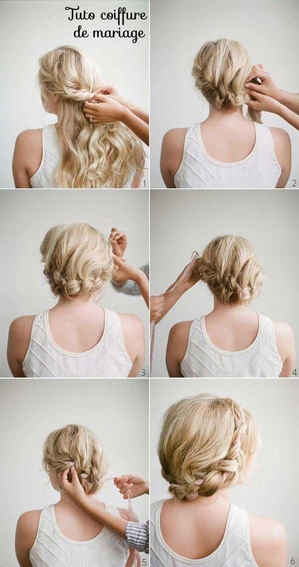 Tuto coiffure de mariage petite fille