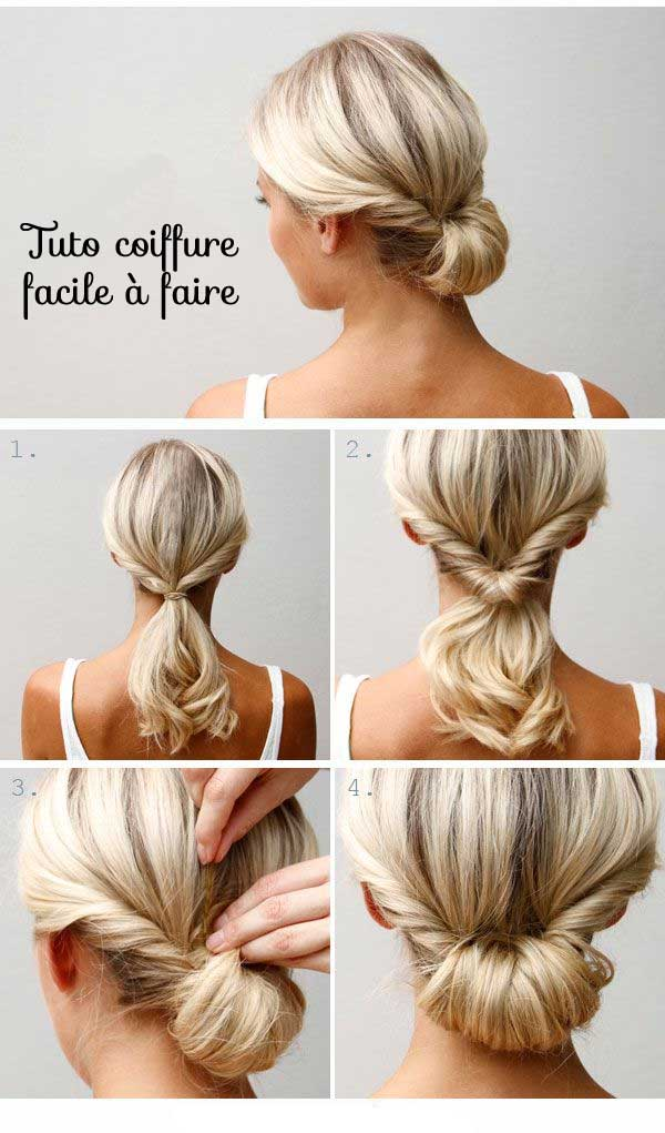 tuto-coiffure femme tendance-facile-a-faire