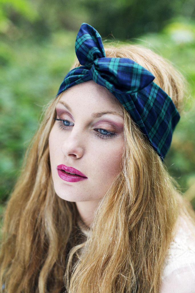 couleur foulard blonde