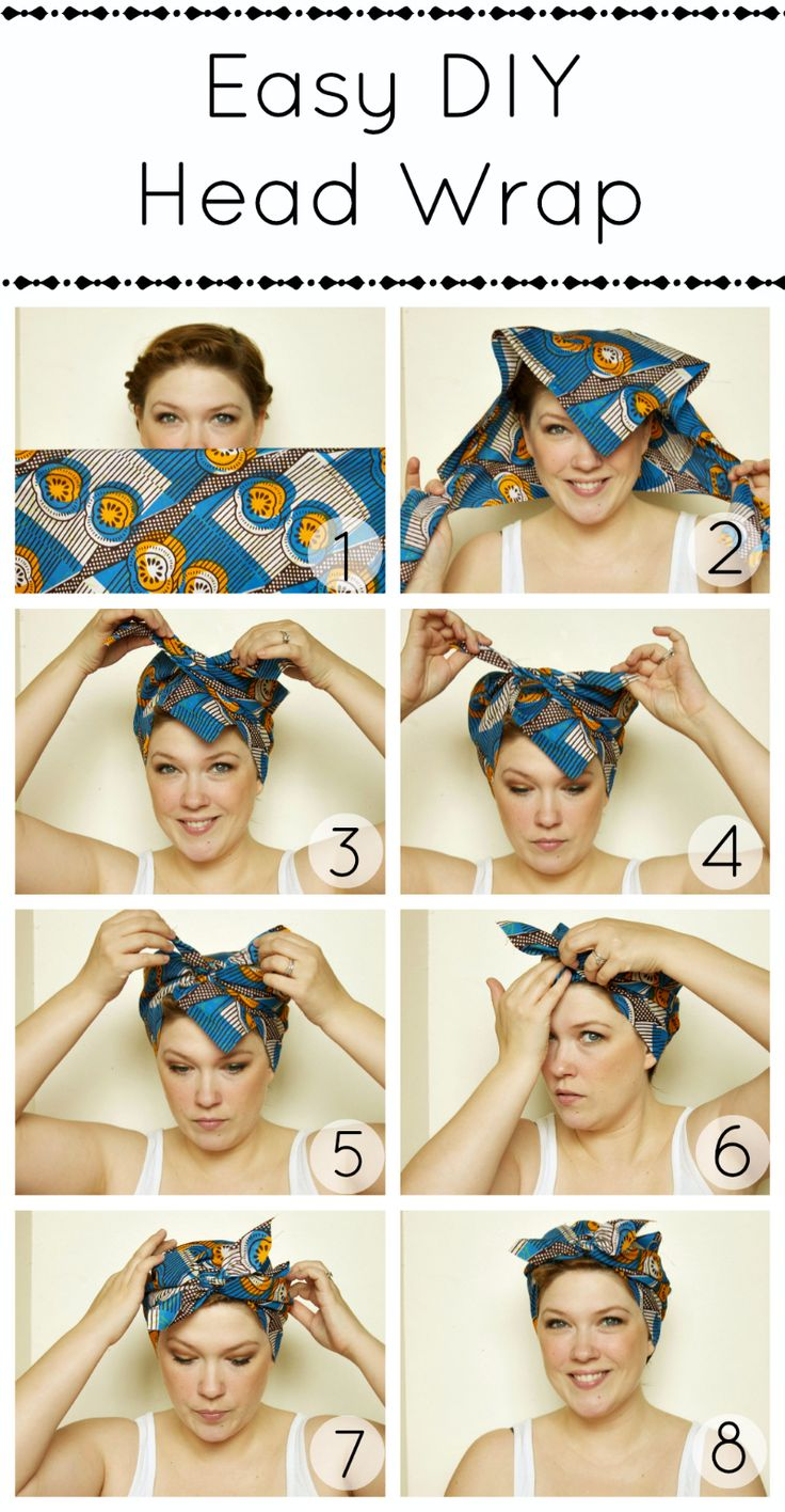 comment lisser cheveux avec foulard
