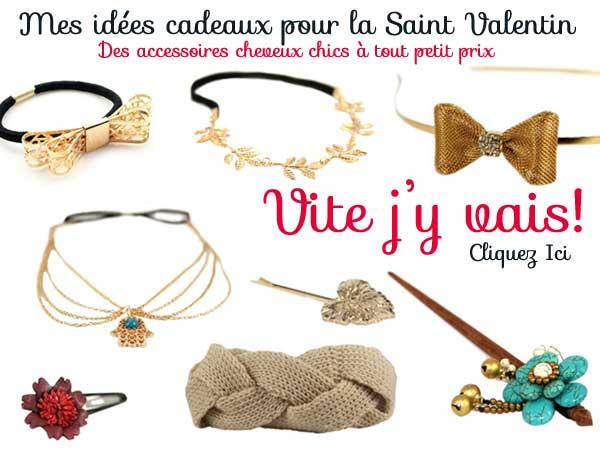 Id es cadeaux saint valentin femme - Coiffure soiree decouvrez nos idees pour la saint valentin ...