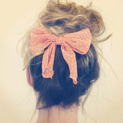 comment porter nœud cheveux