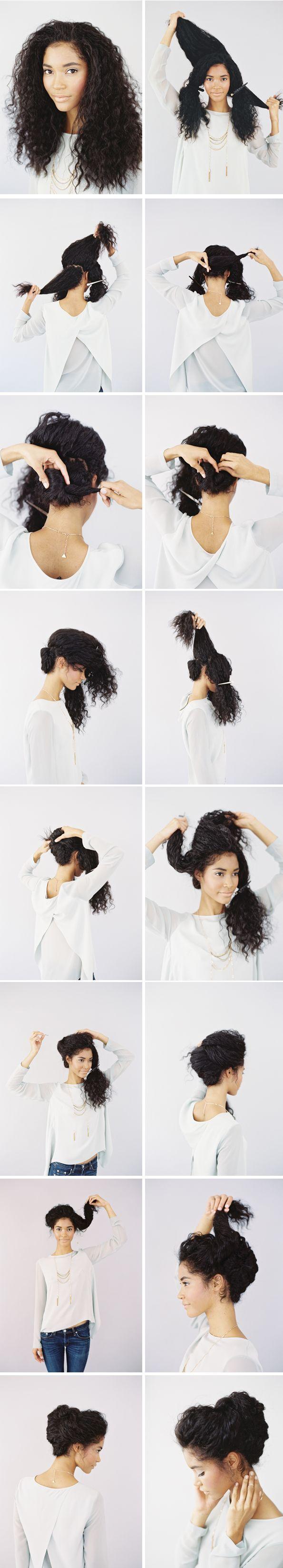 Comment coiffer des cheveux afro