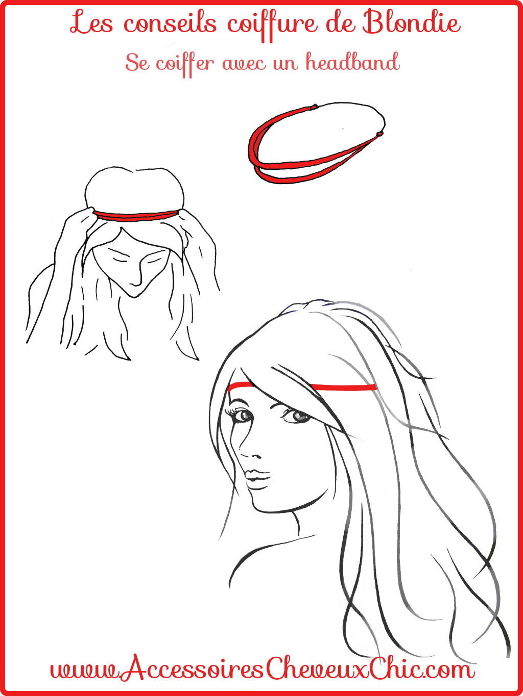 Se coiffer avec un headband