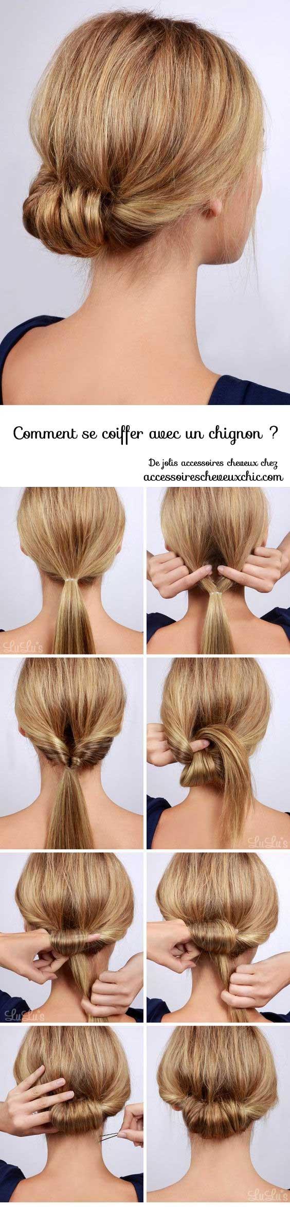 Comment-se-coiffer-avec-un-chignon