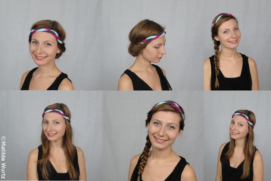 Des idées pour se coiffer avec un turban - tuto.