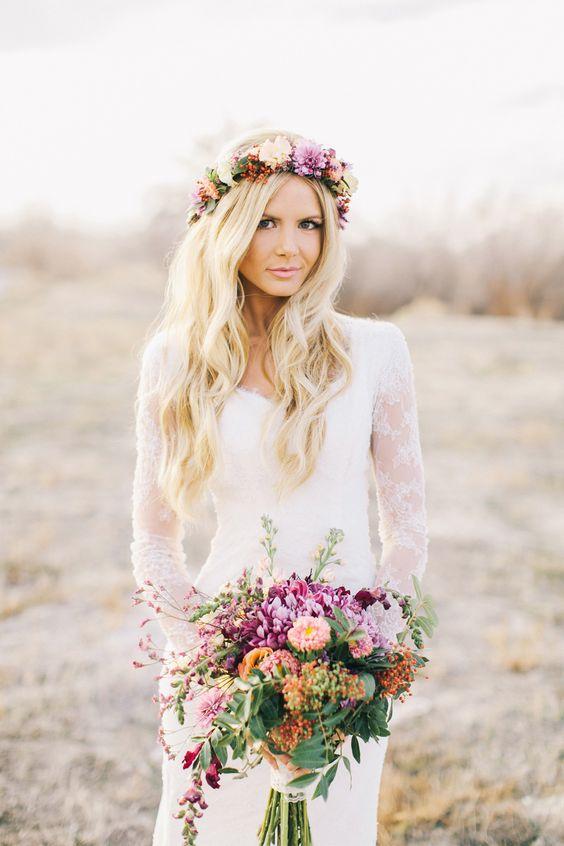 comment choisir couronne de fleurs