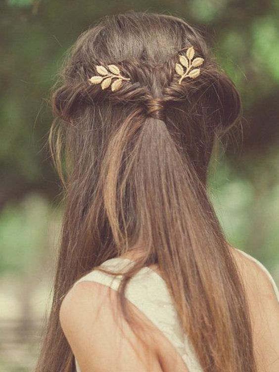Quelle pince pour coiffure de mariage