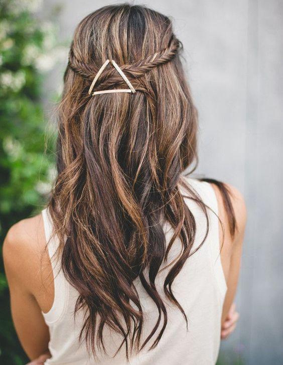 Quelle pince pour une coiffure de mariage