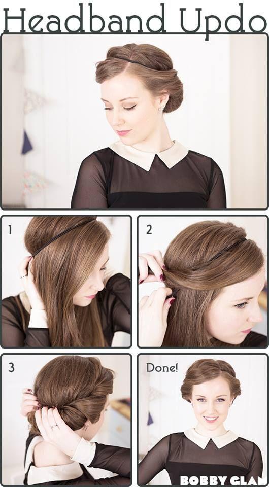 headband pour cheveux fin tuto